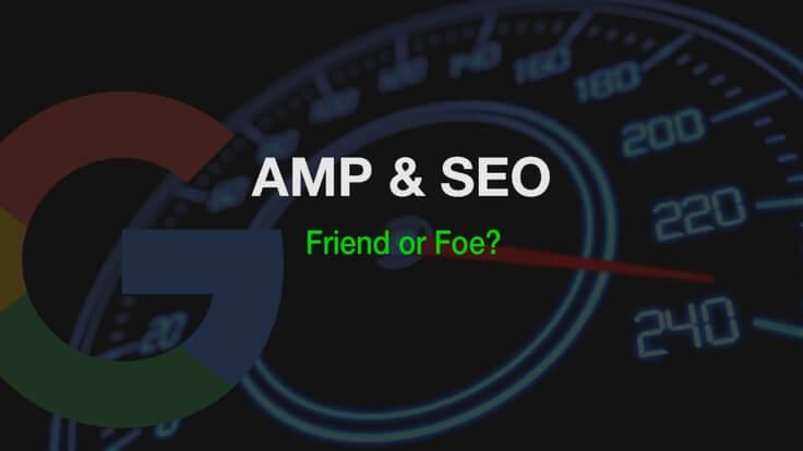 تاثیر AMP بر سئوی سایت